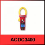 agen jakarta Amprobe ACDC-3400 IND AC/ DC CAT IV True-rms Clamp Meter
