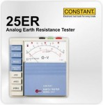 CONSTANT 25ER Analog Earth Resistance Tester