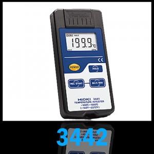 HIOKI 3442 TEMPERATURE HiTESTER