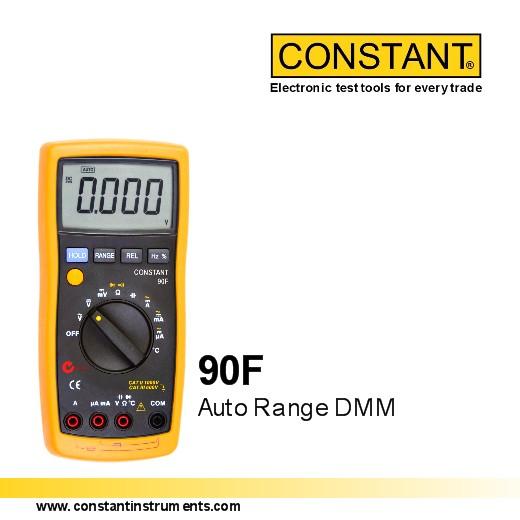 constant 90f auto range digital multimeter