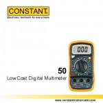 JUAL Constant Dmm 50 ( Low Cost Digital Multimeter )